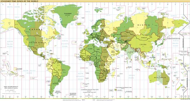 mapa mundi horario Mapamundi (Mapa de husos horarios) mapa mundi horario